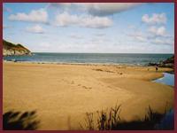 Dyffryn Beach - Aberporth's largest beach